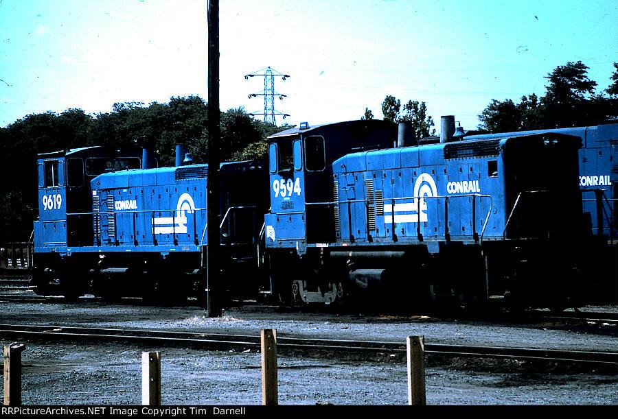 CR 9594, 9619 at abrams Yard